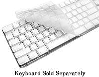 iSkin ProTouch XT Keyboard Skin - Silicone - Frosted White